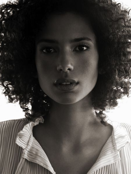 afro-black-and-white-gorgeous-hair-model-Favim.com-154728